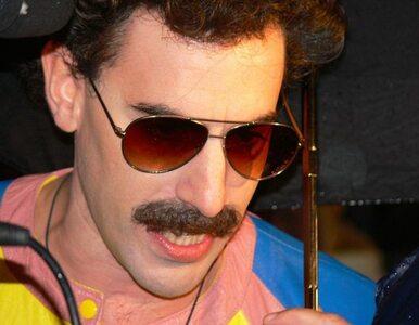 Sacha Baron Cohen... zrzucił staruszkę ze sceny
