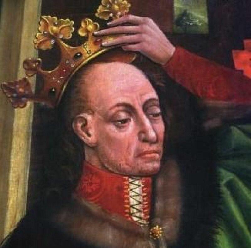 Władysław Jagiełło, wizerunek z katedry wawelskiej, II poł. XV wieku