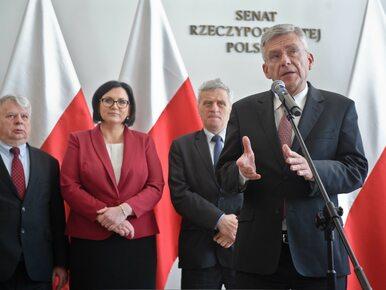 W Senacie ważą się losy Stanisława Koguta. Obrady przerwano, bo polityk...