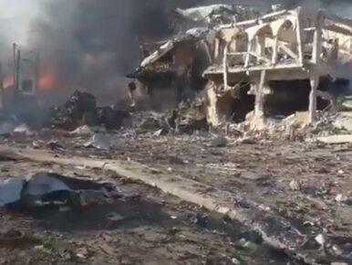 Potężna eksplozja w Mogadiszu. Już ponad 50 ofiar śmiertelnych