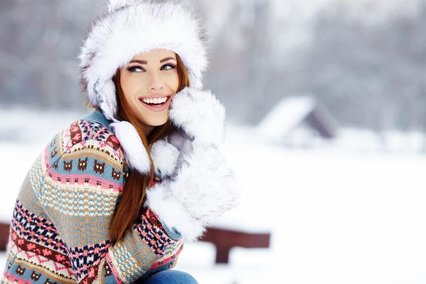 Piękna skóra na zimę