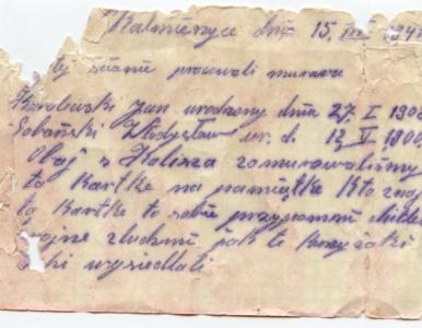 W trakcie remontu dworca znaleziono list w butelce. To przesłanie z 1941...