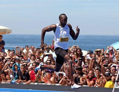 Bolt zaczął sezon od wygranej o włos