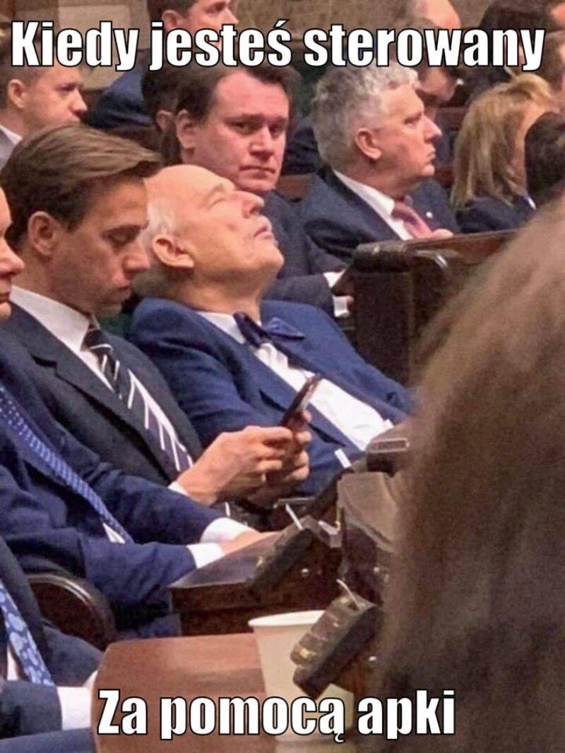 Mem po pierwszym posiedzeniu Sejmu