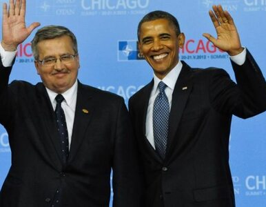 Komorowski: Obama obiecał mi zniesienie wiz. Będę o tym przypominał