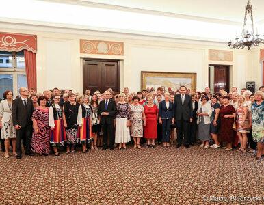 """Polacy z Białorusi przyjęci w Pałacu Prezydenckim. """"Jesteście liderami..."""