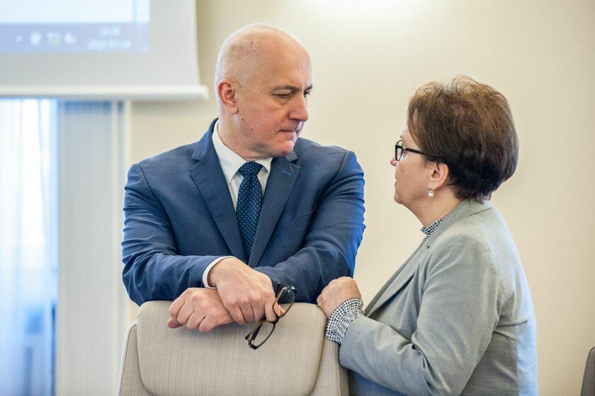 Joachim Brudziński i Anna Zalewska