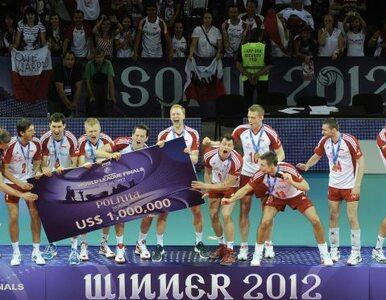 Polscy siatkarze trzecią ekipą świata