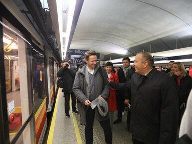 """Trzaskowski i Schetyna w metrze. """"Trzeba ratować Warszawę przed PiS"""""""