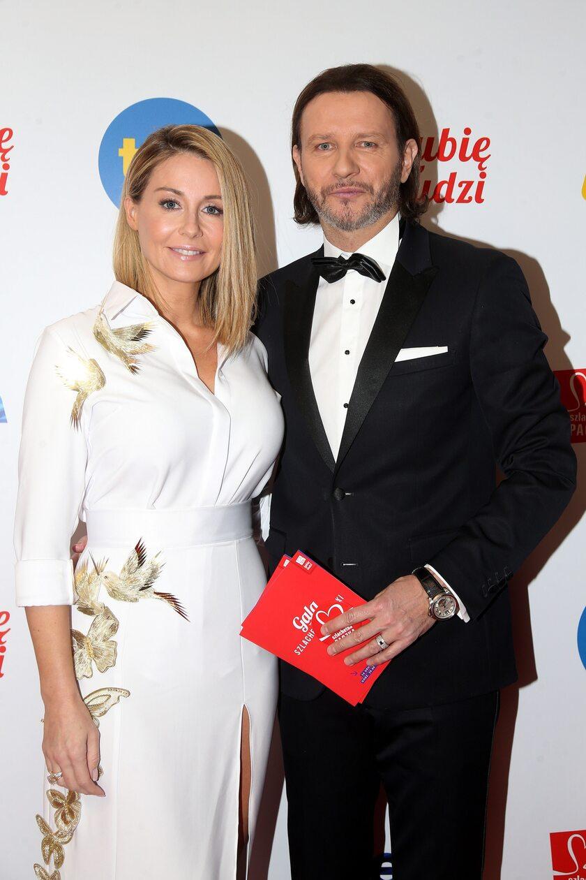 Małgorzata Rozenek-Majdan i jej mąż Radosław Majdan