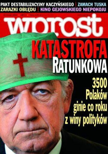 Okładka tygodnika Wprost nr 6/2006 (1209)