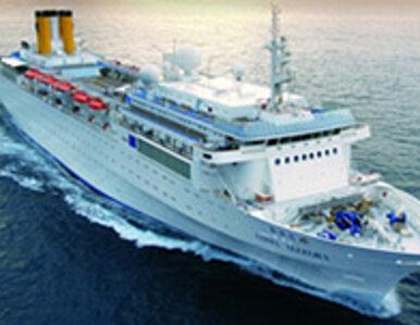 Uszkodzony wycieczkowiec Costa Allegra dotarł do Seszeli