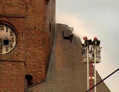 Całonocna walka z żywiołem. Nie ma zagrożenia dla katedry, ale straty...