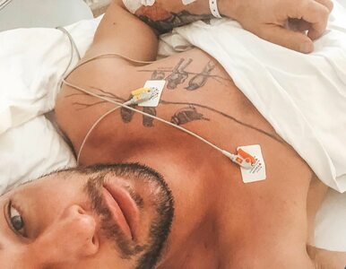 """Aktor znany z """"Azja Express"""" wyznaje, dlaczego trafił do szpitala...."""