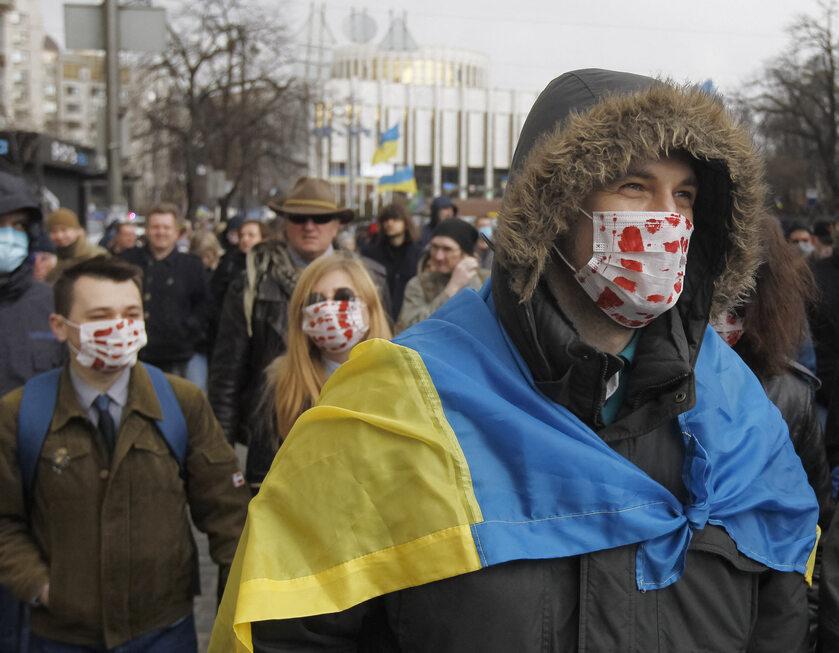 Koronawirus na Ukrainie, zdjęcie ilustracyjne