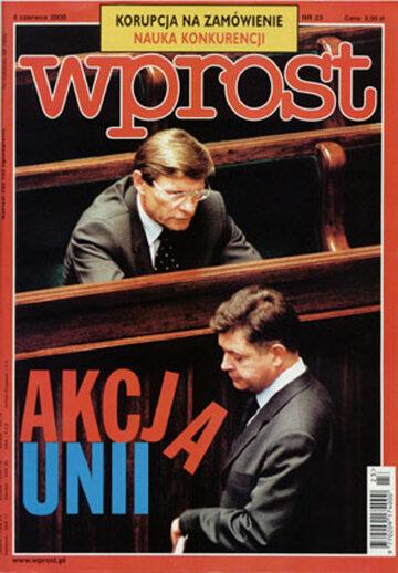Okładka tygodnika Wprost nr 23/2000 (914)