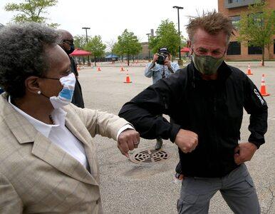 Sean Penn na wojnie z koronawirusem. Aktor pomógł w utworzeniu...