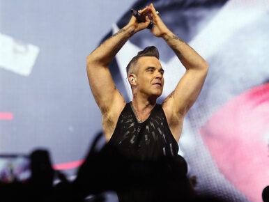 """Robbie Williams ma tremę przed ceremonią otwarcia MŚ. Nie chce """"zrobić..."""