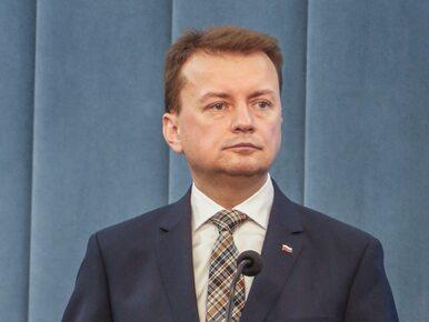 """Błaszczak ogłosił koniec komunizmu w kraju. """"KE zajmuje się Polską z..."""