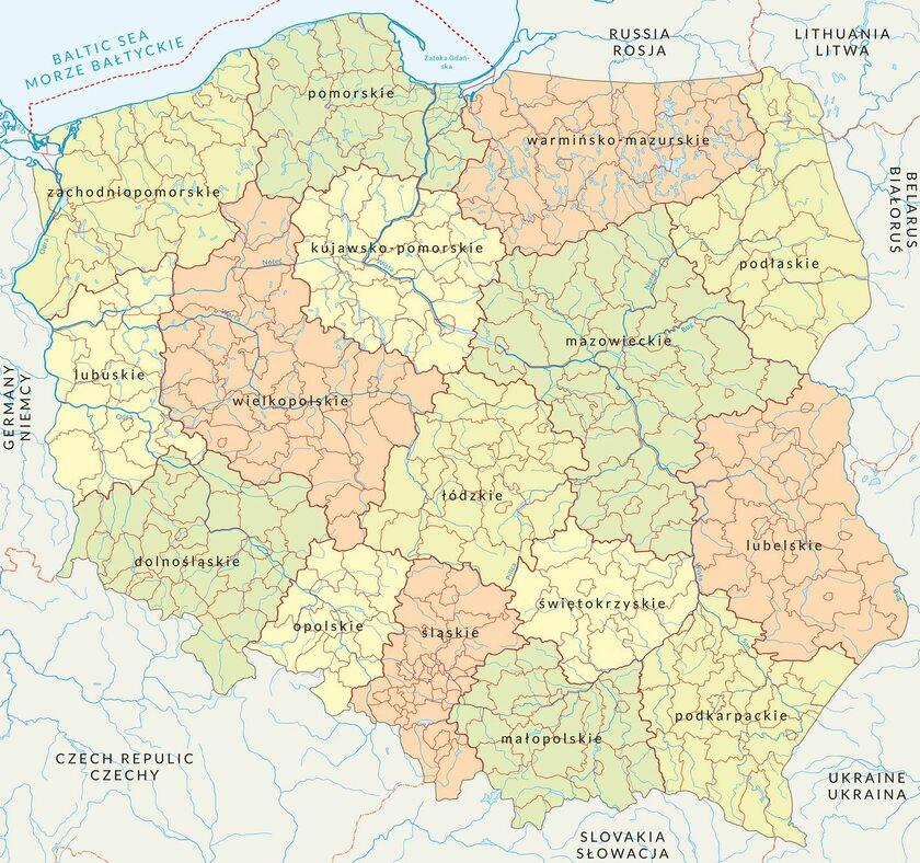 Mapa Polski Zmieni Sie Od 1 Stycznia Inne Nazwy Miejscowosci
