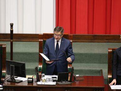Kuchciński ogranicza wstęp na najbliższe posiedzenie Sejmu. CIS pisze...