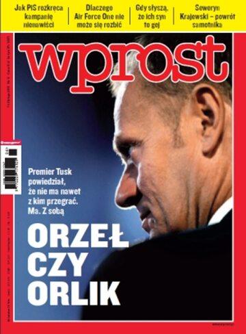 Okładka tygodnika Wprost nr 6/2011 (1461)