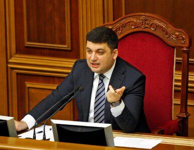 Wołodymyr Hrojsman nominowany na nowego premiera Ukrainy