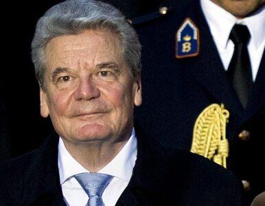 Gauck wydał kolację na cześć Bartoszewskiego