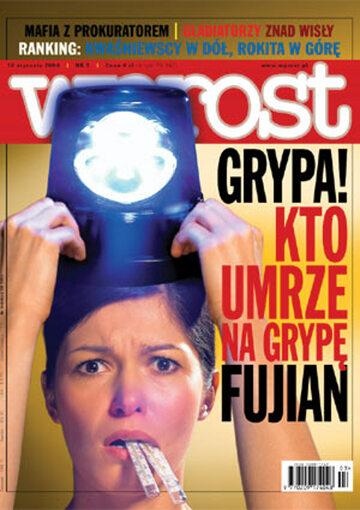 Okładka tygodnika Wprost nr 3/2004 (1103)