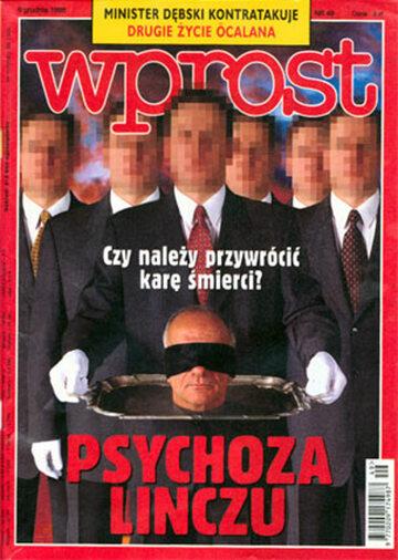 Okładka tygodnika Wprost nr 49/1998 (836)