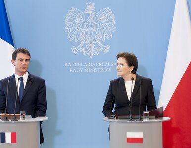 """Kopacz spotkała się z premierem Francji. """"Zażegnanie konfliktu na..."""