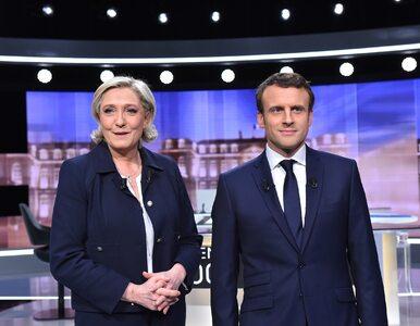 Pyskówka zamiast merytorycznej dyskusji. Le Pen i Macron starli się w...