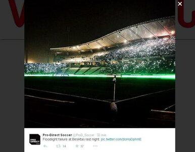 LE: W Stambule zgasło światło. Kibice zrobili niesamowity pokaz