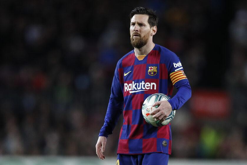 Lionel Messi, zawodnik FC Barcelony