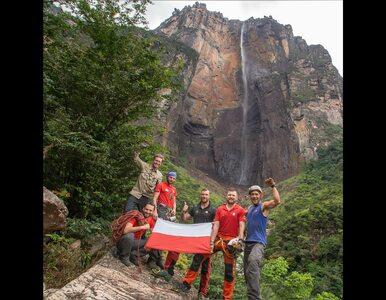 Polacy zdobyli najwyższy wodospad świata. Pochwalili się nagraniem