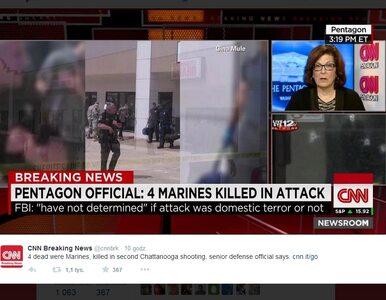 Strzelanina w bazie wojskowej w USA. Czterech marines nie żyje