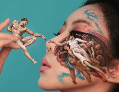 Dain Yoon tworzy iluzje za pomocą makijażu