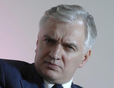 Polityk PO: wystąpienie Gowina? Emocje jak podczas wyścigu ślimaków