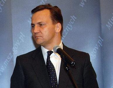 Sikorski: Polska nie uznaje deklaracji niepodległości Krymu
