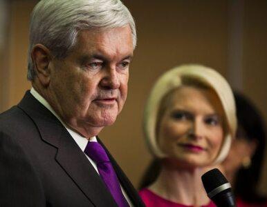 """Prawybory w USA: Gingrich mówi """"pas"""". Na placu boju pozostał Romney i..."""