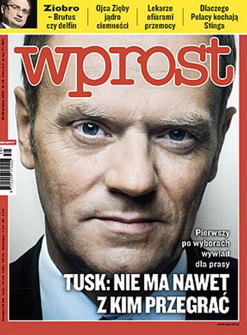 Okładka tygodnika Wprost nr 39/2010 (1442)