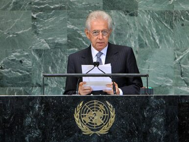 Montiemu spodobało się rządzenie Włochami