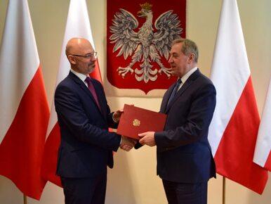 Michał Kurtyka został nowym wiceministrem środowiska