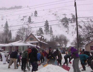 Lawina zmiotła miasteczko w Montanie. Poszukiwanie zasypanych