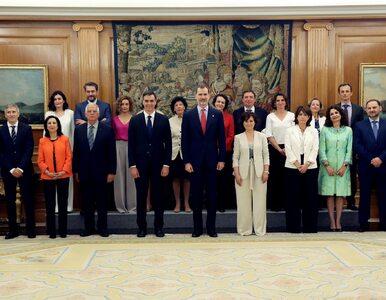 Hiszpański rząd światową sensacją. Na 18 ministrów przypada 11 kobiet i...