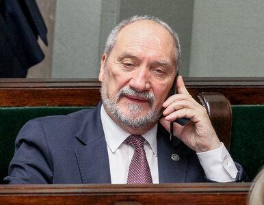 Macierewicz: Musimy zainwestować w ofensywny sprzęt bojowy