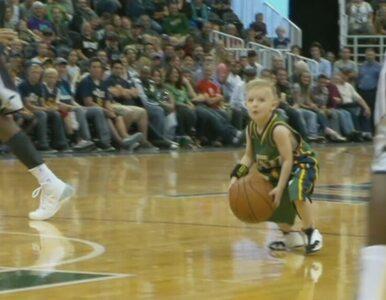Wielki gest Utah Jazz. Kontrakt dostał... 5-latek chory na białaczkę
