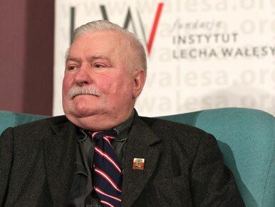 """Zaskakujące oświadczenie Wałęsy. """"Nie życzę sobie, by moje nazwisko..."""