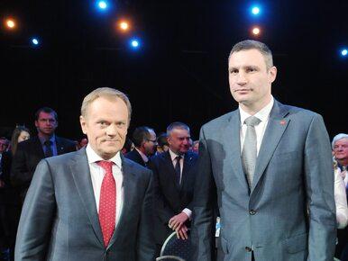 Tusk zainaugurował kampanię wyborczą PO do PE w obecności specjalnego...