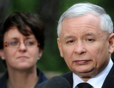 """Kaczyński: 1 proc. dla PJN to wynik """"tych ciężkich prac"""". Kluzik: złe..."""